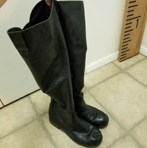 Shoes - Size 10 black knee high boots